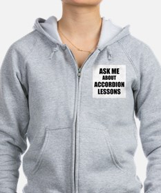 Ask me about Accordion lessons Zip Hoody