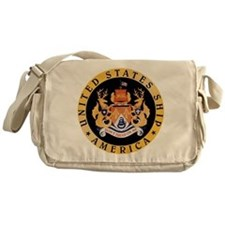 USS America CV-66 Messenger Bag