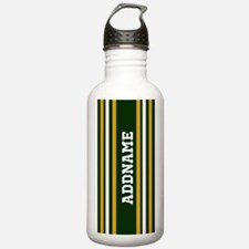 Green Yellow White Str Water Bottle