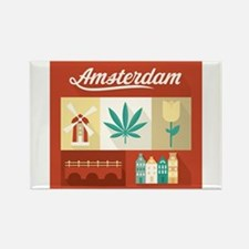 Dutch Pride Rectangle Magnet