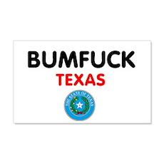 BUMFUCK - TEXAS Wall Sticker
