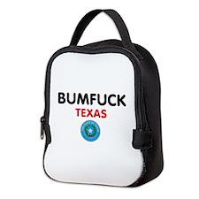 BUMFUCK - TEXAS Neoprene Lunch Bag