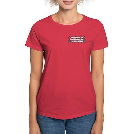 Mess With Ridgeback Women's Dark T-Shirt
