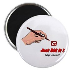"""Just Did It ! (red) 2.25"""" Magnet (100 pack)"""