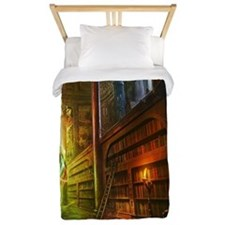 Mystical Library Twin Duvet