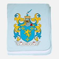 Jordon Family Crest baby blanket