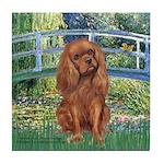 Bridge & Ruby Cavalier Tile Coaster