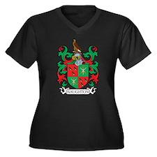 Naughton Family Crest Plus Size T-Shirt