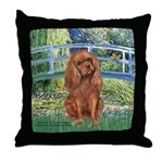Bridge & Ruby Cavalier Throw Pillow