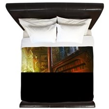 Mystical Library King Duvet