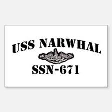 USS NARWHAL Decal