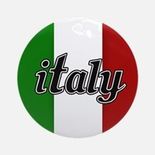 Italy Logo Ornament (Round)