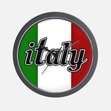 Italy Logo Wall Clock
