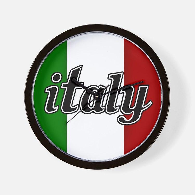 Italy Logo Wall Clock