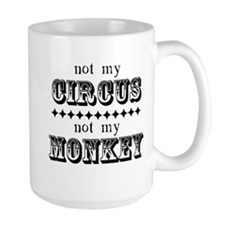 Not My Monkey Mug