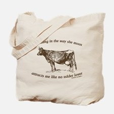 Cute Milk cow Tote Bag