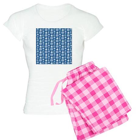 Sailors Dream Nautical Women's Light Pajamas
