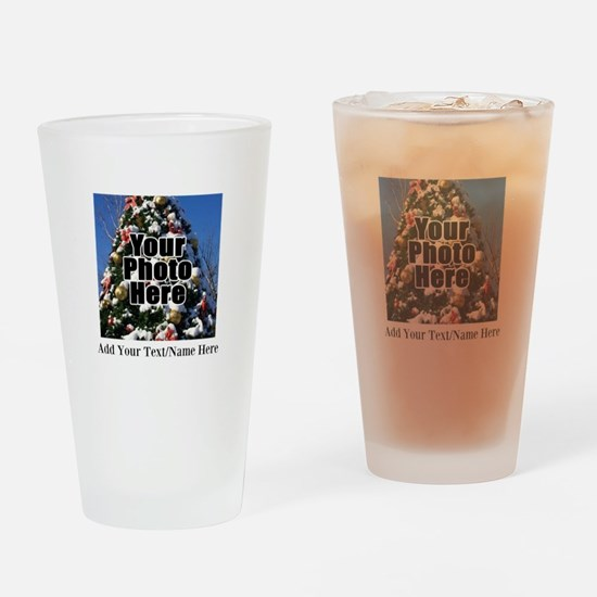 Custom Personalized Color Photo and Text Drinking