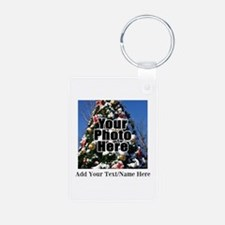 Custom Personalized Color Photo and Text Keychains