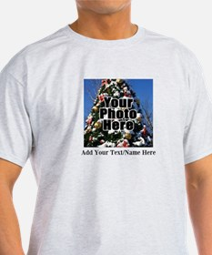Custom Personalized Color Photo and Text T-Shirt