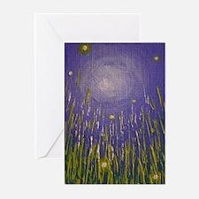 Fireflies Greeting Cards (pk Of 20)