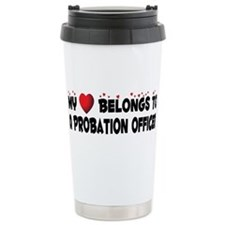 Funny Probation Travel Mug