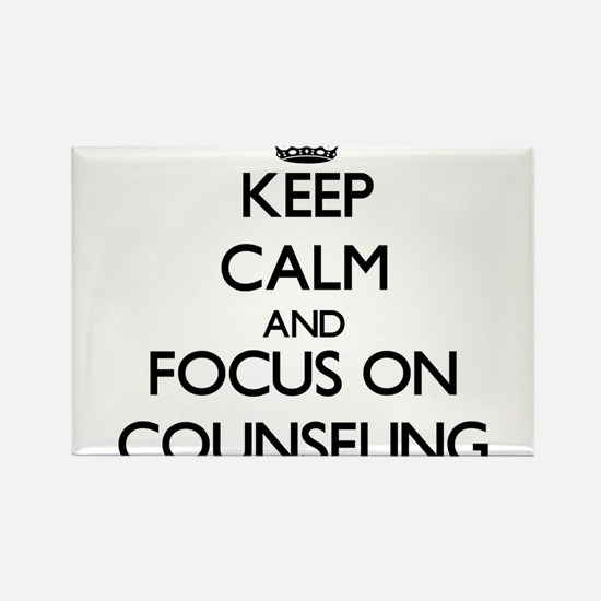 Keep Calm and focus on Counseling Magnets