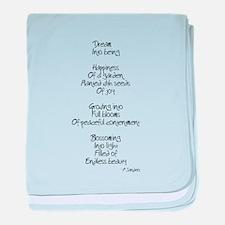 Cute Poem baby blanket