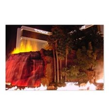 Mirage Explosion, Las Vegas! Postcards (Package of