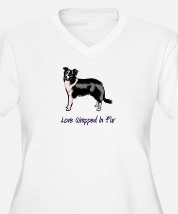 Border Collie - Love Wrapped  T-Shirt
