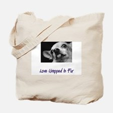 Chihuahua - Love Wrapped In F Tote Bag