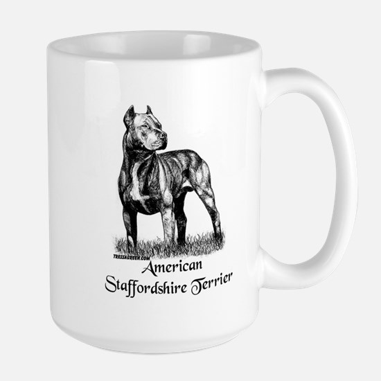 American Staffordshire Terrier Large Mug
