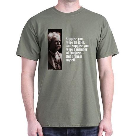 """Twain """"Suppose"""" Dark T-Shirt"""