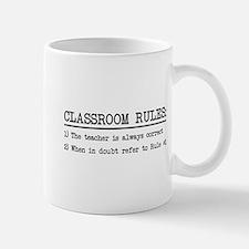 Classroom rules Mugs
