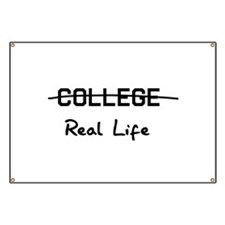 College real life Banner