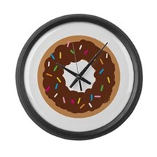 Doughnut! Large Wall Clock