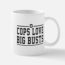 Cops love big busts Mugs