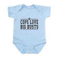Cops love big busts Body Suit