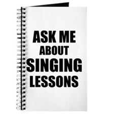 Ask me about Singing lessons Journal