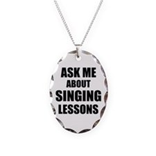 Ask me about Singing lessons Necklace