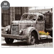 Vintage Old Truck Color Splash Puzzle