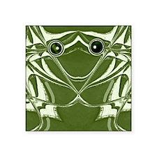 "Froggy Square Sticker 3"" x 3"""