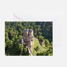 Burg Eltz Castle Germany Greeting Card