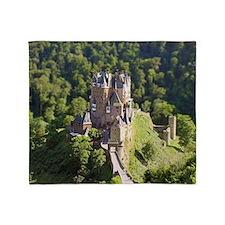 Burg Eltz Castle Germany Throw Blanket