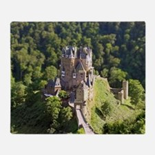 Burg Eltz Castle Germany Throw Blanket