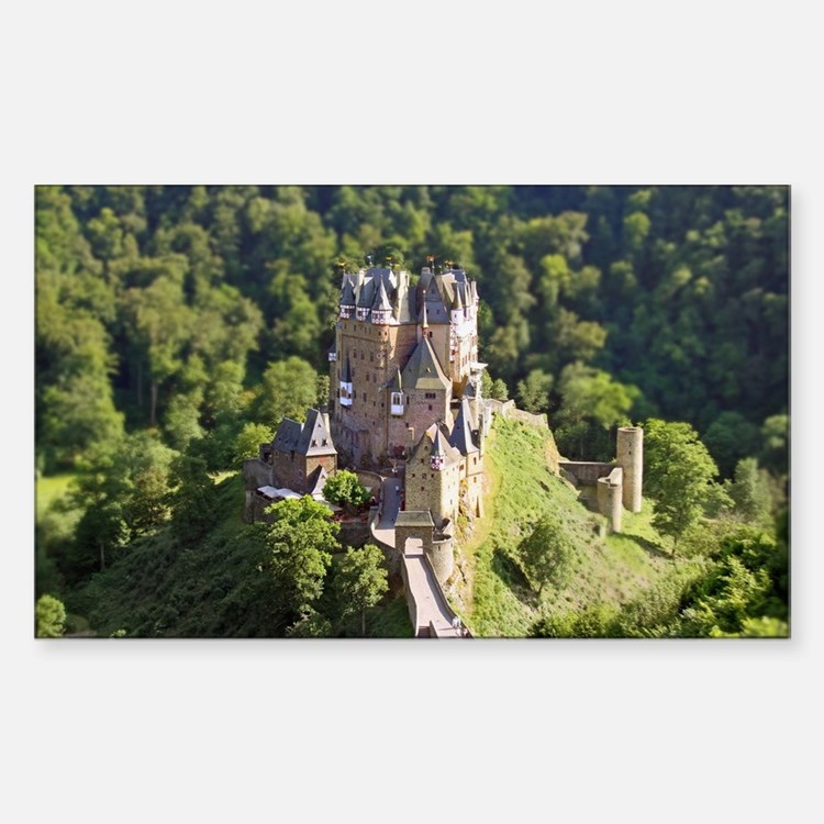 Burg Eltz Castle Germany Decal