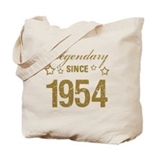 Legendary Since 1954 Birthday Tote Bag