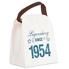 Legendary Since 1954 Birthday Canvas Lunch Bag