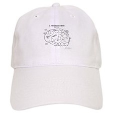 Fisherman's Brain Baseball Baseball Cap