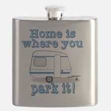 Home Is Where You Park It Flask
